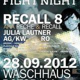 Recall 8 @ EFN Waschhaus Potsdam/28.9.2012