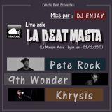 Live_Mix___La_Beat_Masta_Pete_Rock_9th_Wonder_Khrysis__FanaticBeat__DJ_Enjay