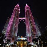 'Twin Towers' mix - Kuala Lumpur - May 2002