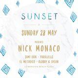 Sunset Monaco 2017, May 28th