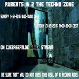 RVBEATS IN 2 THE TECHNO ZONE MIX CUEBASEFM.DE BLACK STREAM 11 AND 13-12-2016