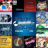 DEEPINSIDE RADIO SHOW 118 (OtherSoul Artist of the week)