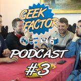 Geek Factor Podcast #3 - Czy recenzenci chcą ze sobą pracować? [+16]