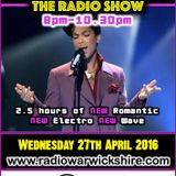 RW072 - THE JOHNNY NORMAL RADIO SHOW - 27TH APRIL 2016 - RADIO WARWICKSHIRE