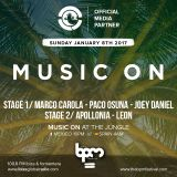 "Apollonia & Leon ,""Music  On at the Jungle "" at BPM 2017 (Playa del Carmen,Mexico) 08/01/ 2017"