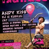 Andy Rise Tuesday Night Takeover Ft Rj & Ruskul 13.08.2013