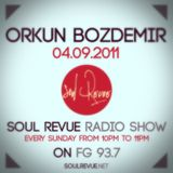 Orkun Bozdemir - FG Sunday Residents - 04.09.2011- SOUL REVUE RADIO SHOW