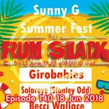 Alive From Sunny G Episode 140 18 Jun 2018 The Show Must Go On Fri 22 Jun 2018 At The Rum Shack .. !