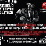 Columna de Teatro 22-04-2016: Escuela de Teatro Político