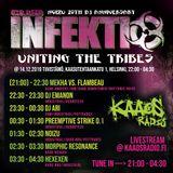 Club Infektio - Uniting the Tribes *NoiZu 20th DJ Anniversary* (Recorded Live by Kaaosradio)