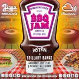 WSTRN & TRILLARY BANKS LIVE @ BBQ JAM 2018 NEWPORT JULY 21ST @OFFICIALDJJIGGA