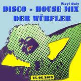 DER WÜRFLER - Disco - House Mix - Vinyl Only