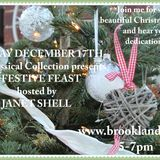 A Festival of Christmas Favourites with JANET SHELL first broadcast 17th December 2017