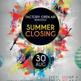 Luky Lawley - Warm Up To Summer Closing NextApes @ Factory Aréna 2013.08.30.
