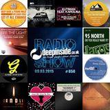 DEEPINSIDE RADIO SHOW 050 (95 North Artists of the week)