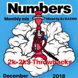 Numbers at Eight Nagoya Mothly mix in December!!! 2K-2K3 Throwback Mixed by DJ KAZMO