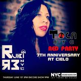 RUBI (R3, NYC) LIVE @ TOCA RED PARTY AT CIELO NYCHOUSERADIO.COM 2017