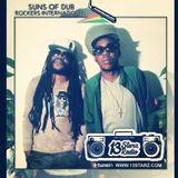 Ras Jammy & Jah Bami (Suns Of Dub) Live mix & freestyle on #13StarzRadio