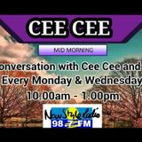 Mid Morning In Conversation With CeeCee 23rd July 2018