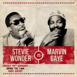 CAT&MUTTON MIX 004: STEVIE WONDER VS MARVIN GAYE