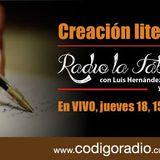 Radio la Fábrica entrevisto a Aldo Rosales Coordinador del taller de Creación Literaria en el FARO I