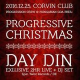 Woody vs. Gra3o feat. Boolint - Live @Progressive Christmas with Day Din at Corvin Club 2016-12-25