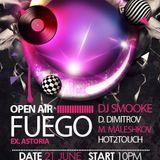 DIMITAR DIMITROV-Club FUEGO Stara Zagora@Open Air.21.06.2014.