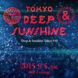 Deep and Sunshine Tokyo Live-Set on 2015-09-05