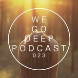 We Go Deep Podcast #023 mixed Dry & Bolinger