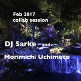 Feb 2017 collab session DJ Sarke and Morimichi Uchimoto