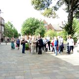 Legal Leicester audio trail, University of Leicester students' project, part of Greyfriars THI