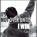 Les Brown at its not over till I WIN