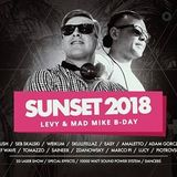 AMALETTO - SUNSET MIX 2018 (LEVY & MAD MIKE B-DAY)