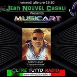 "Jean Nouvel Casali ha presentato  Musicart ""Le Leggende Del Rock"""