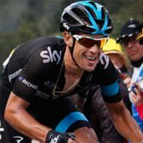 Richie Porte speaks to the media halfway through the 2014 Tour de France