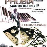 Martin Kremser - PHOBIA 011 Guest Mix @ Vibes Radio Station 21 September 2011