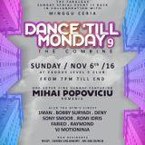 "ROMI IDRIS LIVE SET on ""DANCE TILL MONDAY 9 -the combine-"" at EXODUS CLUB JKT (Sun, Nov 6th 2016)"