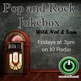 The Pop and Rock Jukebox with Nat and Sam on IO Radio 170715
