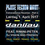 Rimini-Peter - Plaze Techno Night Teaser 01.04.2017