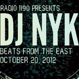 BeatsFromTheEast Oct 20th Ft DJ NYK!
