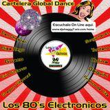 Dj Shaggy - Gregory Villarreal - Cartelera Global Dance - Los 80's Electronicos