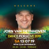 05. Jorn van Deynhoven LIVE at Dance for Love 2019 - 13.09.2019 - MTW Club - Offenbach (D)