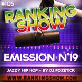 Ranking Show N°19 - Jazzy Hip Hop - By Pozetick