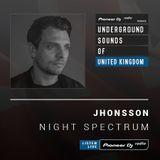 Jhonsson - Night Spectrum #018 (Underground Sounds Of UK)