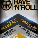 GabeeN Live @ Rave 'n' Roll , Sirup Club , Zagreb 2012.10.19.
