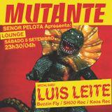 Mutante #107 with Señor Pelota + Luis Leite (radio show Antena 3 Dance)
