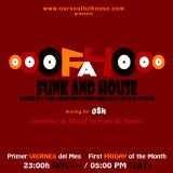 Funk and House mixing for OSH Radio Volume 38