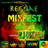 Gneous Music & WWEN Radio 92.4 presents: Reggae MixFest volume 1