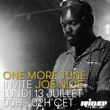 One More Tune #21 - Joe Nice Guest Mix - RINSE FR - (13.07.15)