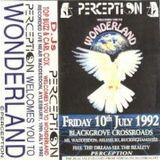 Carl Cox - Perception, Wonderland, 10th July 1992